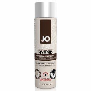 System JO Silicone Free Hybrid Lubricant Coconut Warming 120 ml - rozgrzewający lubrykant hybrydowy
