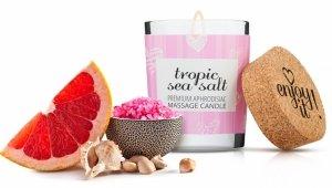 MAGNETIFICO ENJOY IT! Tropic sea salt - aromatyczna świeczka do masażu (tropikalna sól morska)
