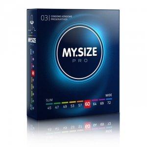 MY.SIZE Pro 60 mm - Prezerwatywy (1op./3szt.)