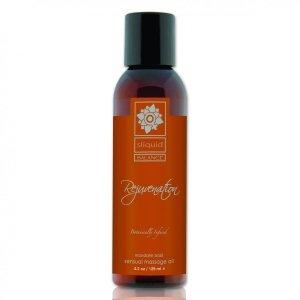 Sliquid Balance Massage Rejuvenation 125 ml - orzeźwiający olejek do masażu (mandarynka, bazylia)