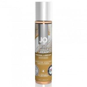 System JO H2O Lubricant Vanilla 30 ml - lubrykant na bazie wody o smaku waniliowym