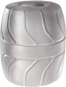 Perfect Fit SilaSkin Ball Stretcher 50 mm - pierścień na jądra (biały)