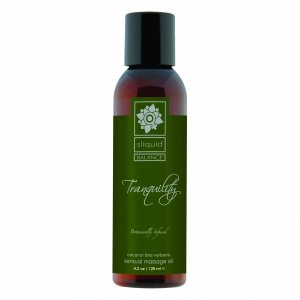 Sliquid Balance Massage Tranquility 125 ml - Olejek do masażu (kokos, limonka)