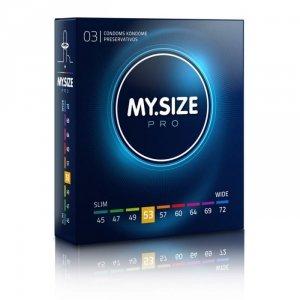 MY.SIZE Pro 53 mm - Prezerwatywy (1op./3szt.)