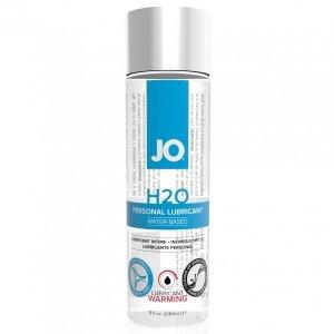 System JO H2O Lubricant Warming 240 ml - rozgrzewający lubrykant na bazie wody