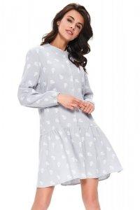 Dn-nightwear TCB.9751 koszula nocna M (szary)