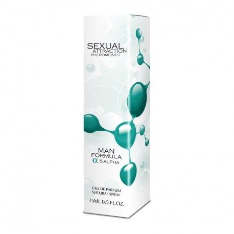 Sexual Attraction 15ml perfumy z feromonami - męskie