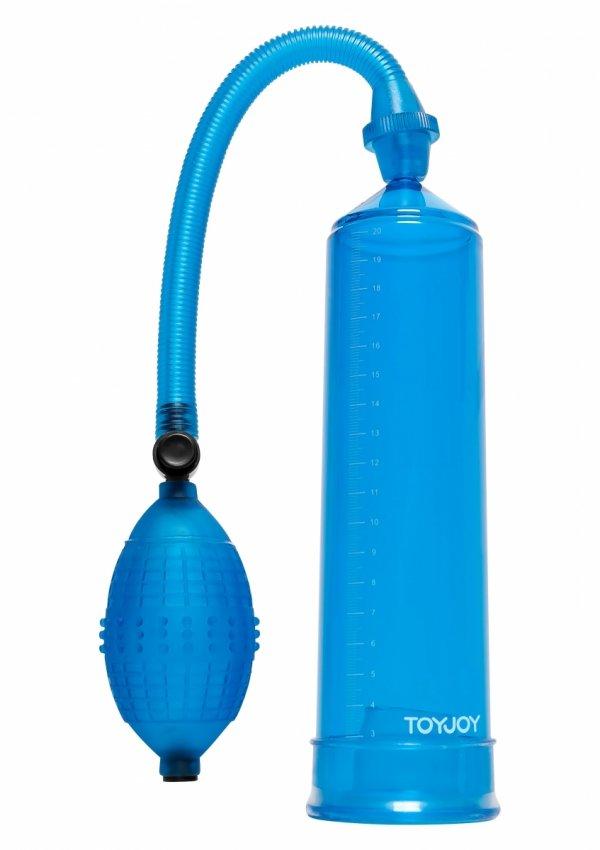 ToyJoy Pressure Pleasure Pump - pompka do powiększania penisa (niebieski)