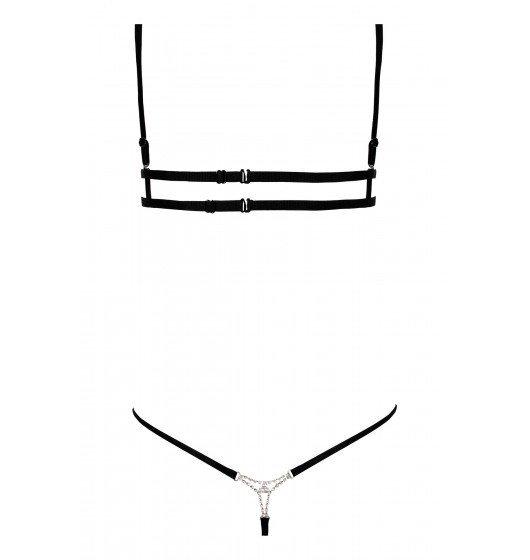 Anais Kyane komplet 2-częściowy L (czarny)