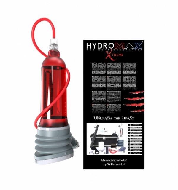 Bathmate Xtreme X50 - pompka do penisa (czerwony)