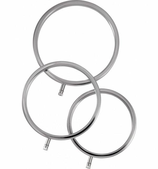 ElectraStim zestaw pierścieni do elektrostymulacji penisa (3 szt.)