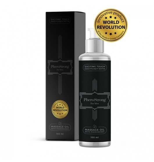 Medica Group PheroStrong for Men Massage Oil 100ml - olejek z feromonami dla mężczyzn