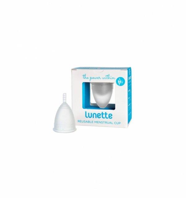 Lunette Menstrual Cup Clear - model 2