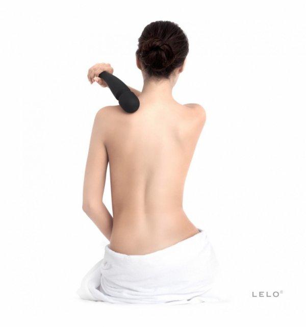 LELO Smart Wand Large - Masażer do ciała (śliwkowy)