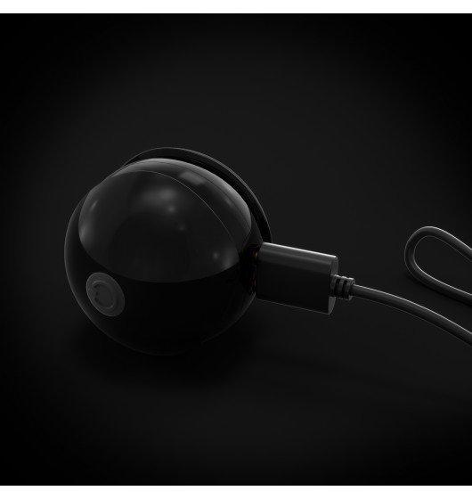 Progresywne kulki gejszy Marc Dorcel Training Balls (czarne)