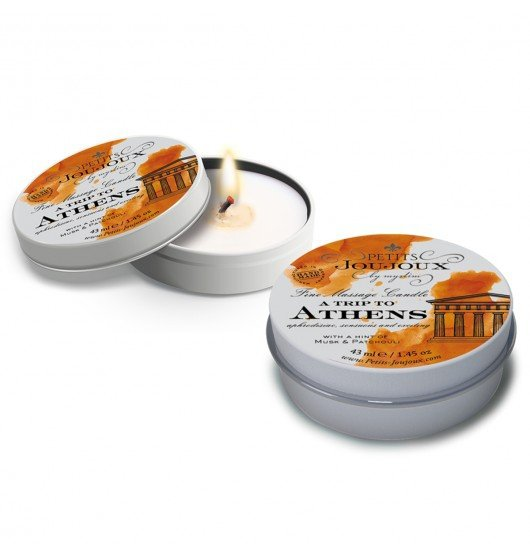 Petits Joujoux Fine Massage Candles - A trip to Athens (33 g)