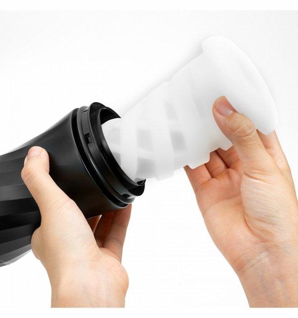 Masturbator Tenga Air-Tech Twist Tickle - kubek próżniowy wielokrotnego użytku - masturbator oralny