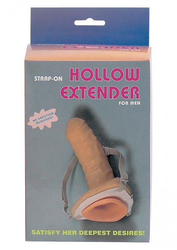 Strap-On Hollow Extender Man