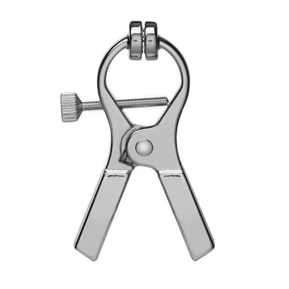 ElectraStim Electraclamps Uni-polar 2pack - metalowe klamerki do elektrostymulacji