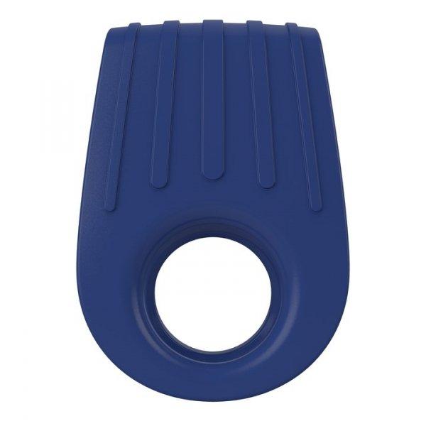 Ovo B12 Ring - erekcyjny pierścień wibrujący (niebieski)