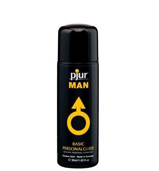 pjur MAN Basic Personalglide 30ml - lubrykant na bazie silikonu