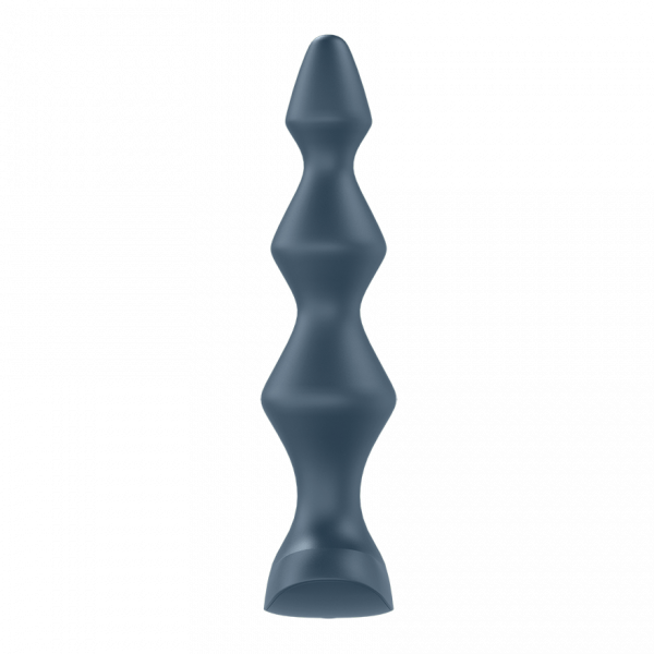 Satisfyer Lolli Plug 1 - wibrujący korek analny (grafitowy)