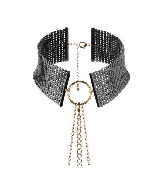 Bijoux Indiscrets - Désir Métallique metalowa obroża dla kobiet, czarna