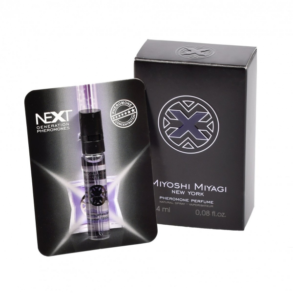 "Miyoshi Miyagi Next ""X"" for men 2,4 ml perfumy z feromonami - męskie"