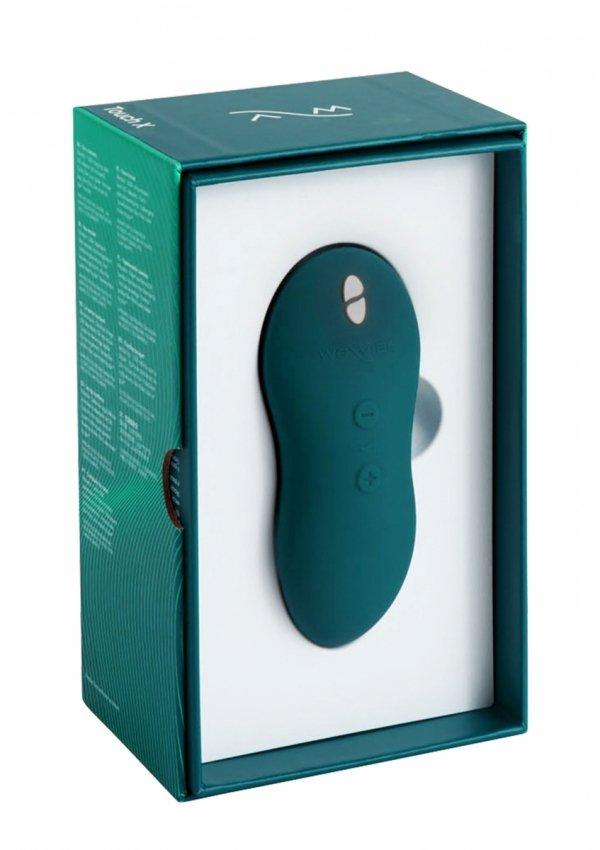We-Vibe Touch X - masażer łechtaczki (zielony)