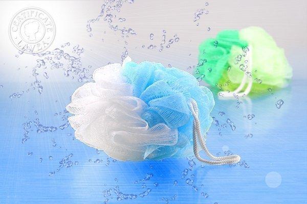 Myjka do ciała siateczkowa