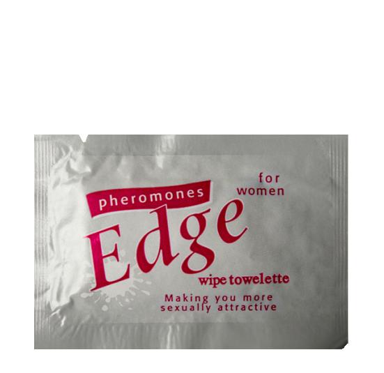Feromony The Edge próbka damska – chusteczka nawilżana 3ml