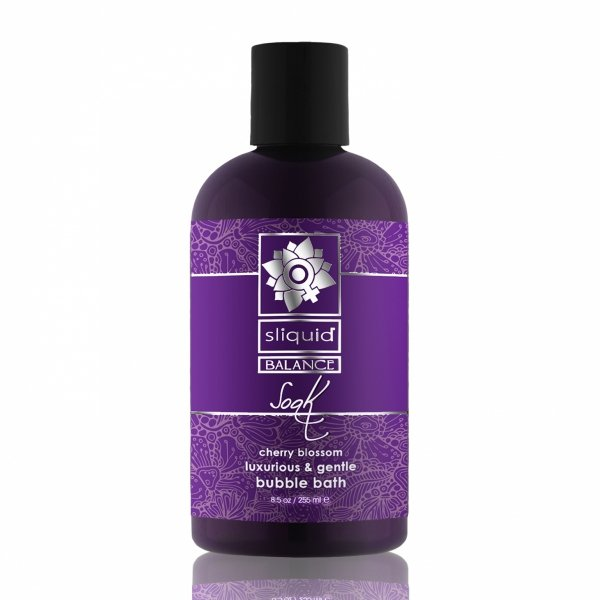 Sliquid Balance Soak Cherry Blossom 255 ml - płyn do kąpieli (kwiat wiśni)
