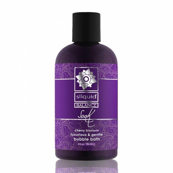 Sliquid Balance Soak Cherry Blossom 255 ml - płyn do kąpieli (kwiat wiśni)