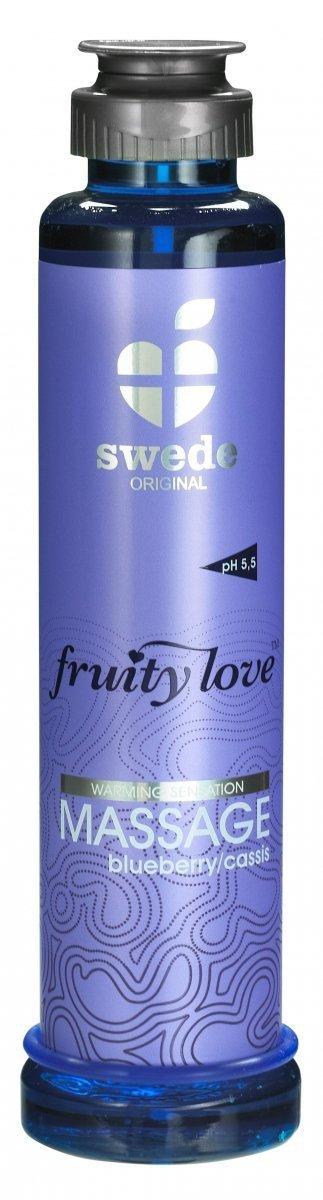 Swede Fruity Love Massage - owocowy żel do masażu 200 ml (jagoda)