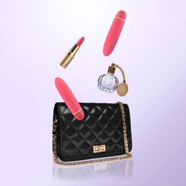 Rianne S - Classique Vibe - Mini Wibrator (koralowy róż)