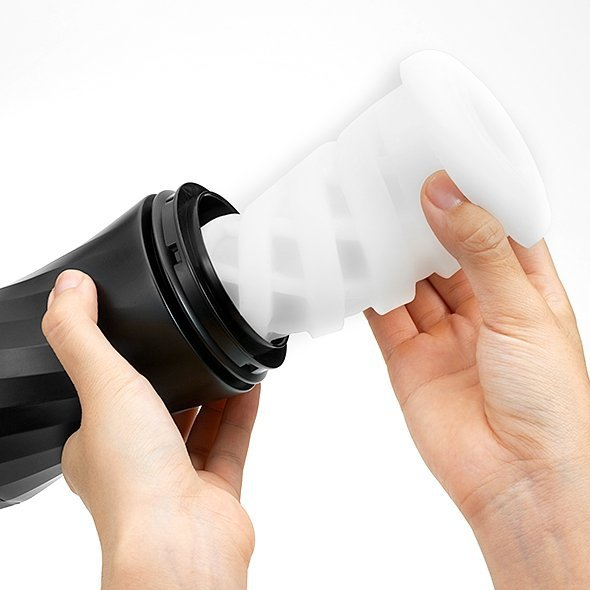 Masturbator Tenga Air-Tech Twist Ripple - kubek próżniowy wielokrotnego użytku - masturbator oralny