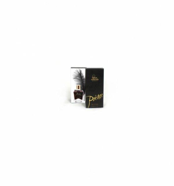 Atrament do ciała z piórkiem Bijoux Indiscrets - Poême Dark Chocolate