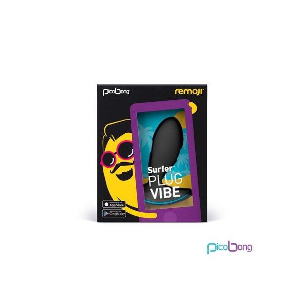 PicoBong - Remoji Surfer Plug Vibe (black)