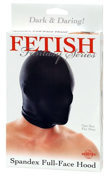 Ffs Spandex Full Face Hood Black