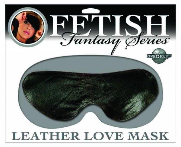Ffs Leather Love Mask Black