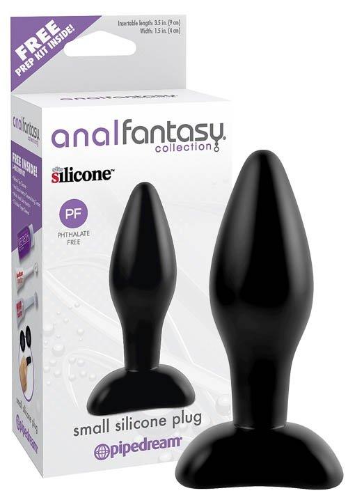 Afc-Small Silicone Plug Black