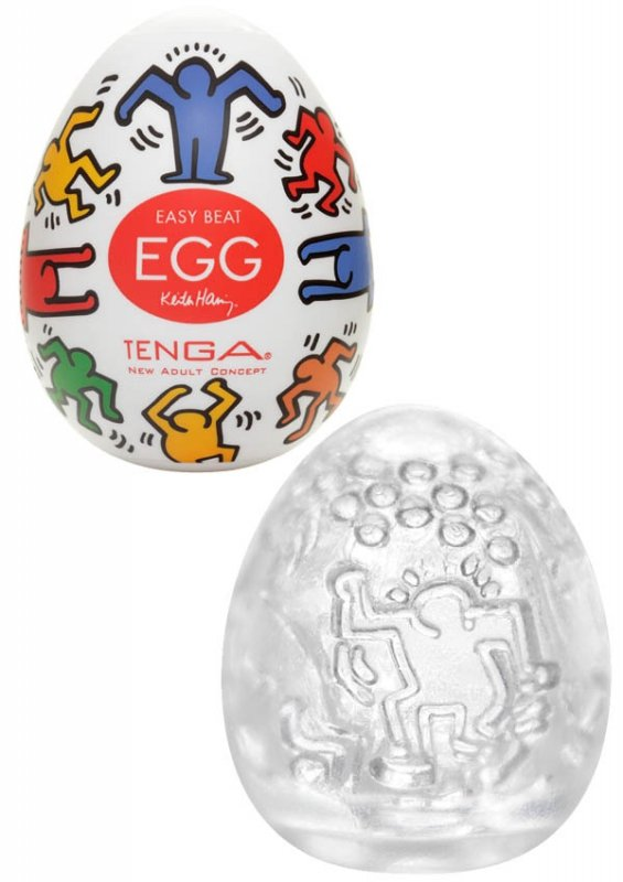 Keith Haring Egg Dance 6 Pcs.