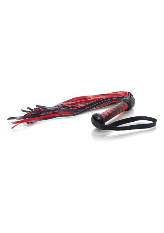 Evolved Scarlet Couture Diamond Flogger