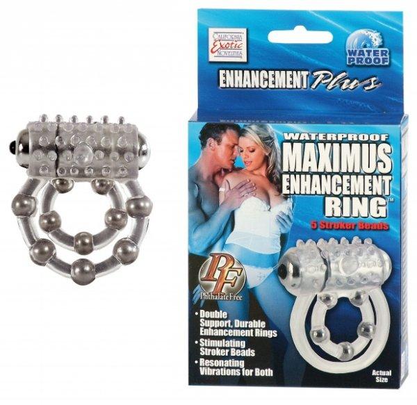 Maximus Ring 5 Stroke Beads Vibr.