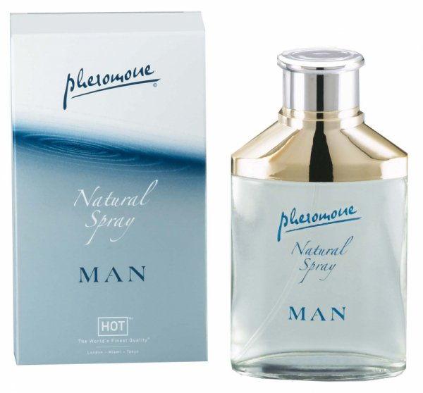 Hot Man Pheromon Natural Spray 50 M