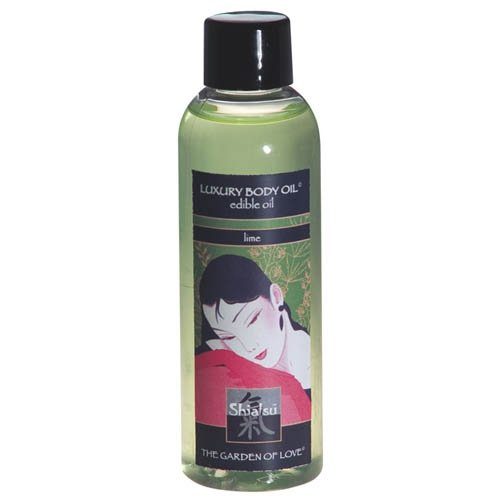 Shiatsu Edible Oil Lime 100 ml
