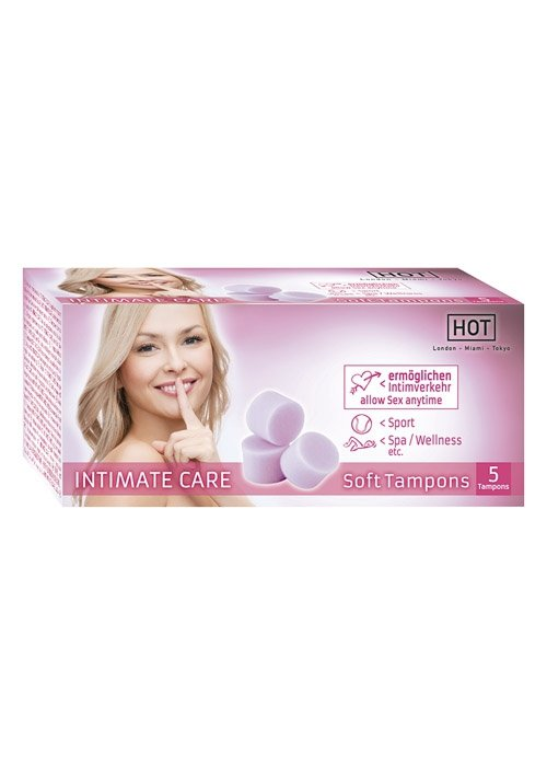 Hot Intimate Care Soft Tampons 5 St