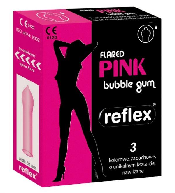 Osłonki Reflex Flared Pink  (1op x 3 szt.)