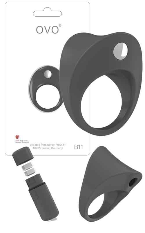 Ring B11 Grey