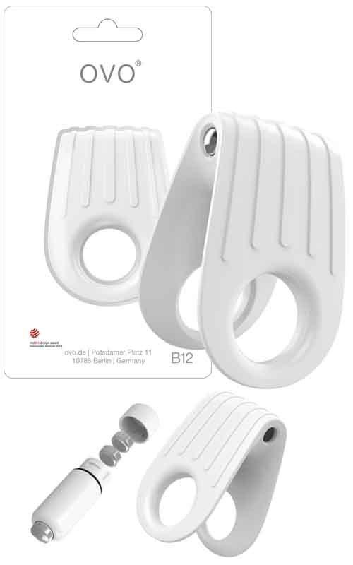Ring B12 White